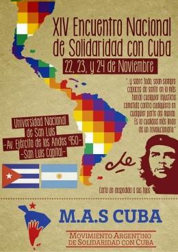 Convocatoria XIV Encuentro Nacional de MAS CUBA