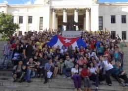 I Encuentro de Nacionalidades Amigos de la Revolución en la Universidad de La Habana