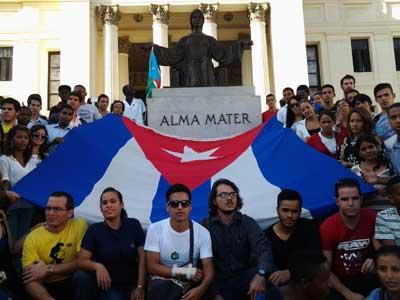 I Encuentro de Nacionalidades Amigos de la Revolución en la Universidad de La Habana1