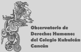 Logo Observatorio de Derechos Humanos del Colegio Kukulcán