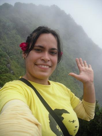 """Autor: Niurka Socarrás Hernández, estudiante de Ingeniería en Ciencias Informáticas, UCI, Cuba (@Niurky2): """"Desde la altura, libertad para los 5"""""""