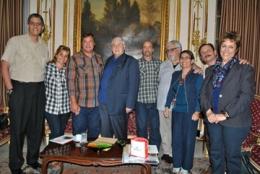Reciben en el ICAP a amigos de la solidaridad italiana