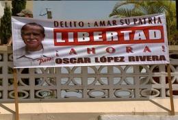 Cartel de Oscar Lopez Rivera