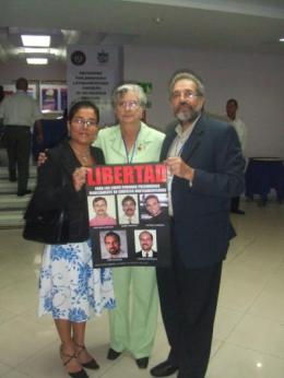 Comité de Betania por la Liberación de los 5 Virgilio Ortega Santizo