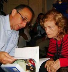 Encuentro de Antonio Guerrero con la poeta Carilda Oliver Labra