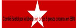 Logo Comité Estatal por la Liberación de los Cinco Cubanos Presos en EE.UU. de España