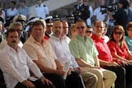 Los Cinco en acto en la Upec (13-3-2015)