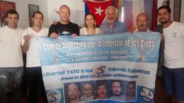 Integrantes del Comité Argentino por la Libertad de los 5