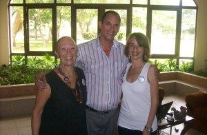 Ingrid Rada Romero, Waldo Barrera y Yesgrid Martínez, CIS La Pradera