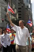 El alcalde de Nueva York, Bill de Blasio. EFE/Miguel Rajmil