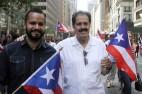 José Marco Serrano (i), senador del Estado de Nueva York junto a su padre, José Serrano (d). EFE/Miguel Rajmil