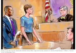 Ana Belén Montes en el juicio